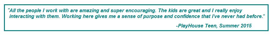 teen volunteer quote